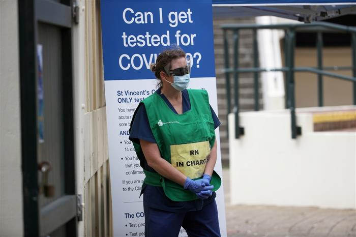 Australia sees Covid-19 cases climb, police warn against protest repeat