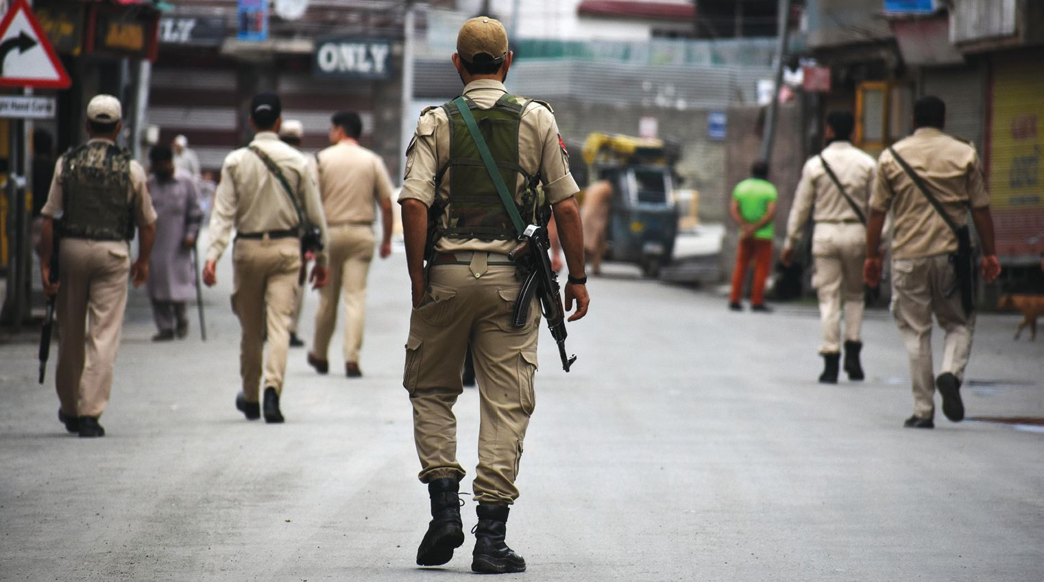 Partial shutdown in Kashmir to mark Martyrs' Day