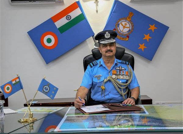 Air Chief Marshal visits Leh station to take stock of IAF's operational readiness